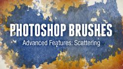 Photoshop Brushes Advanced Features: Scattering
